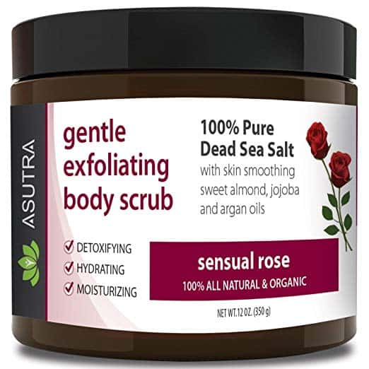 ASUTRA gentle exfoliating body scrub
