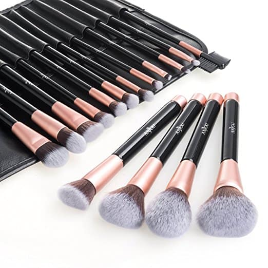 Anjou Makeup Brush Set (16 pcs)