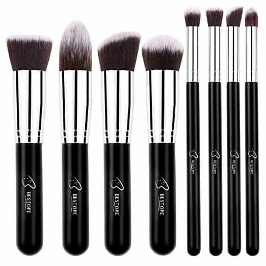 BESTOPE Makeup Brushes 8 Pieces Makeup Brush Set.