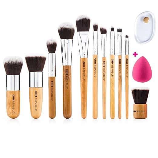 Chic Republic 11 Piece Makeup Brush Set