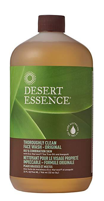Desert Essence Thorough Clean Face Wash