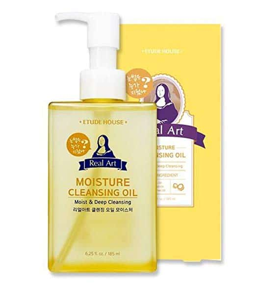 Etude House Real Art Cleansing Oil Moisture Advanced