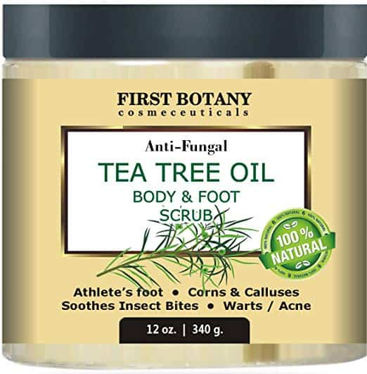 First Botany Anti-Fungal Tea Tree Oil Body and Foot Scrub