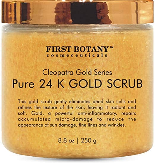 First Botany Pure 24 K Gold Scrub