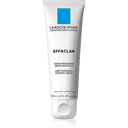 La Roche-PosayEffaclar Deep Cleansing Foaming Cream Face Wash
