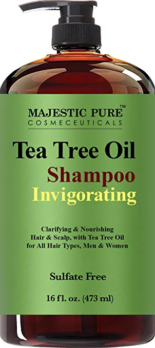 Majestic Pure™ Tea Tree Oil Shampoo.