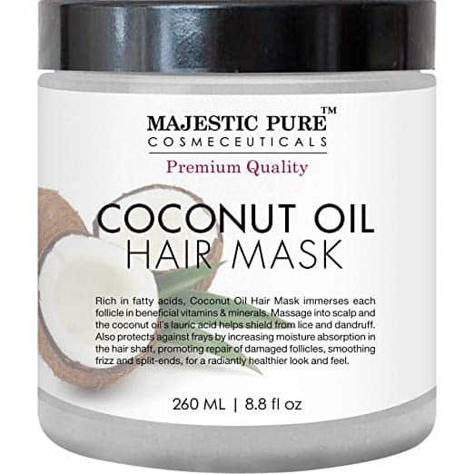 MajesticPure Coconut Oil Hair Mask