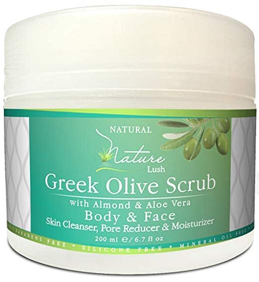 Nature Lush Green Olive Scrub