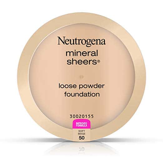 Neutrogena mineral sheers Loose Powder Foundation